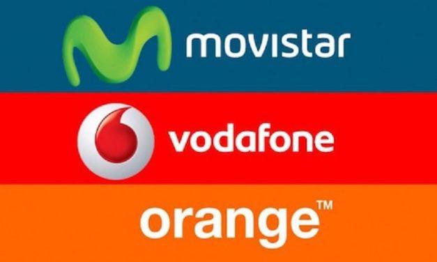 Las tarifas de Movistar, Orange y Vodafone más equilibradas de voz y datos