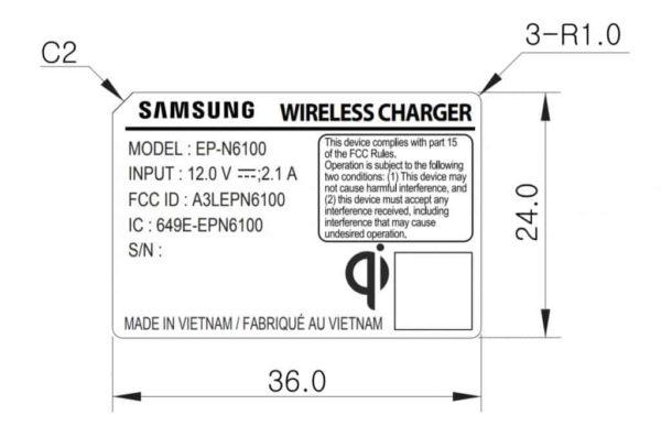 carga inalámbrica del Samsung Galaxy Note 9