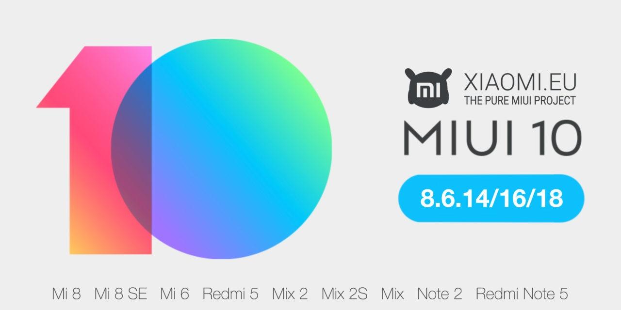 Ya puedes probar la versión MIUI 10 en español en tu móvil Xiaomi