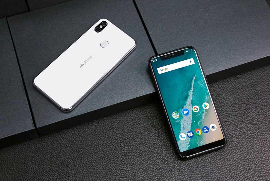 Ulefone X, pantalla con muesca, doble cámara y carga inalámbrica