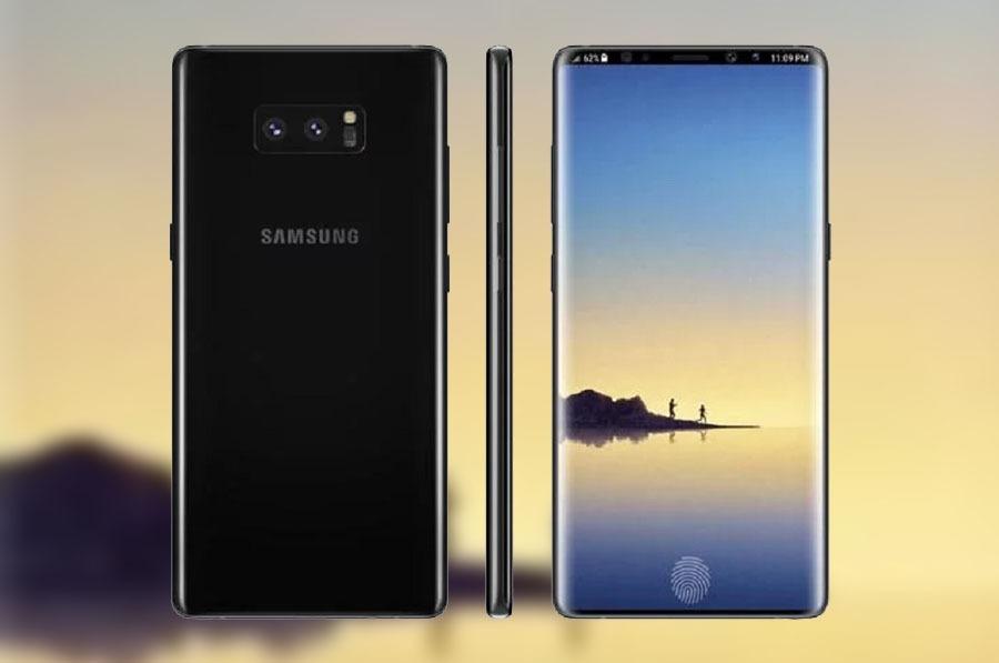 El Samsung Galaxy Note 9 tendrá una gigantesca batería y carga inalámbrica rápida
