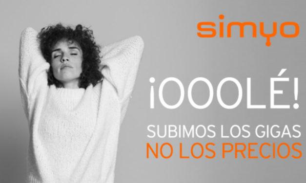Simyo lanza una tarifa con 30 GB para navegar por el móvil