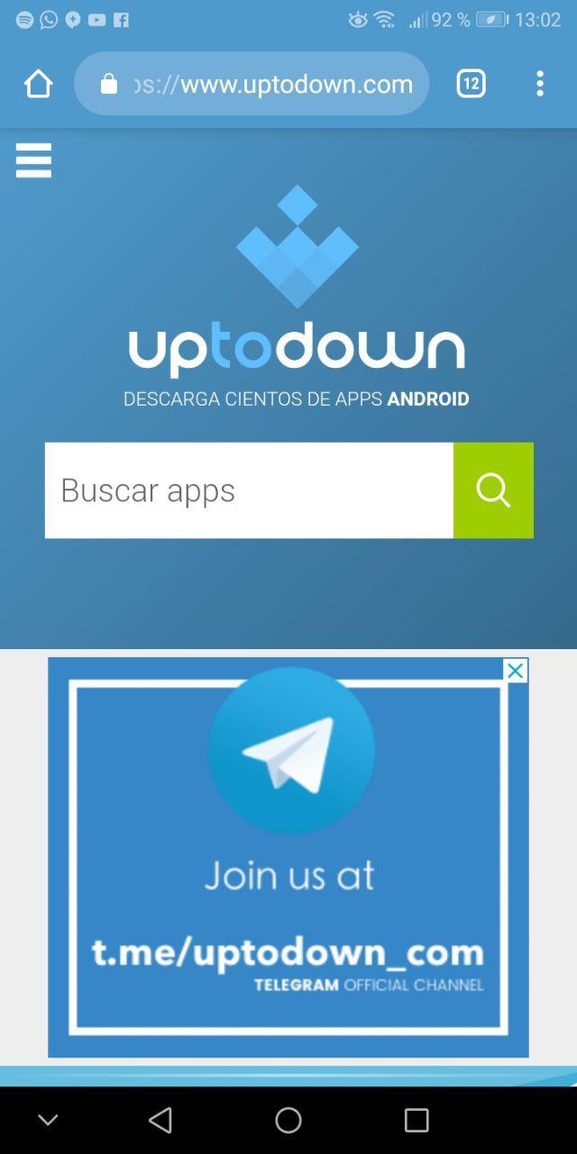 descargar telegram apk uptodown