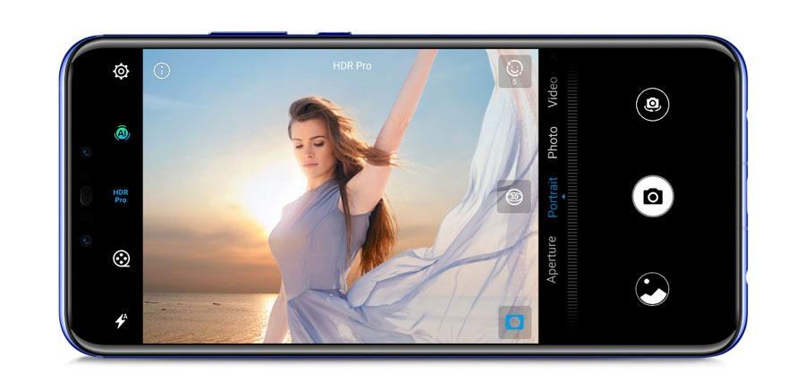5 características clave del Huawei Nova 3 cámara frontal