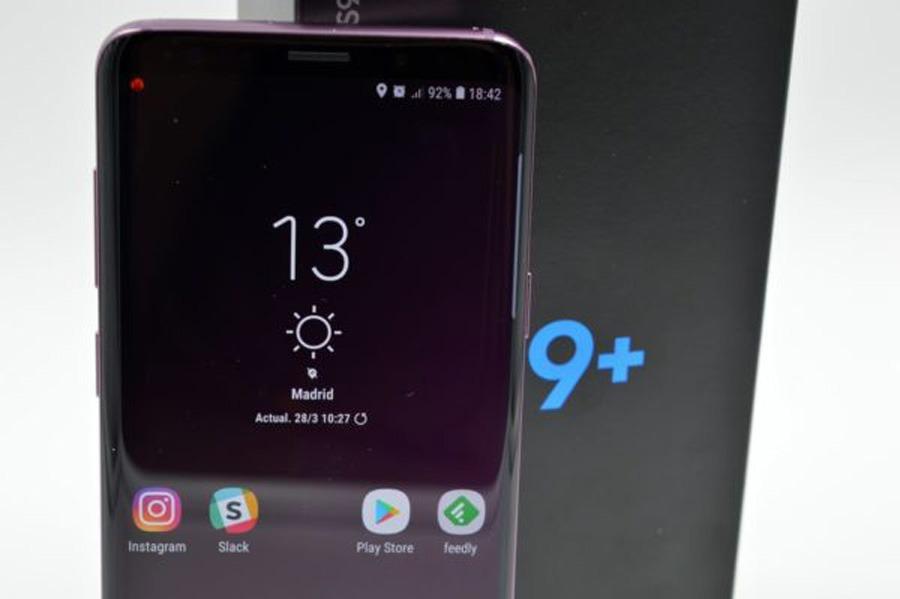 actualización Samsung Galaxy S9+ cómo