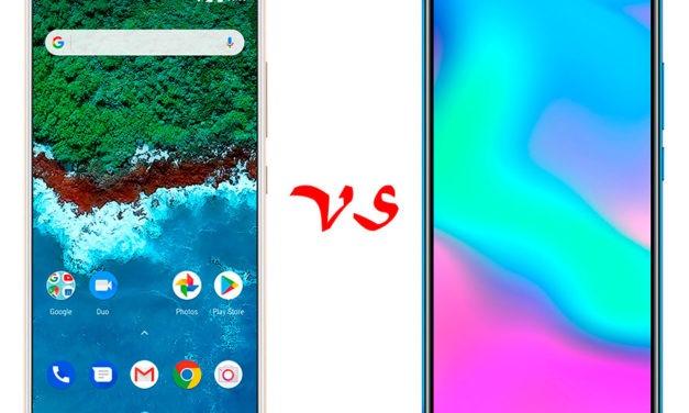 Comparativa BQ Aquaris X2 Pro vs Honor 10