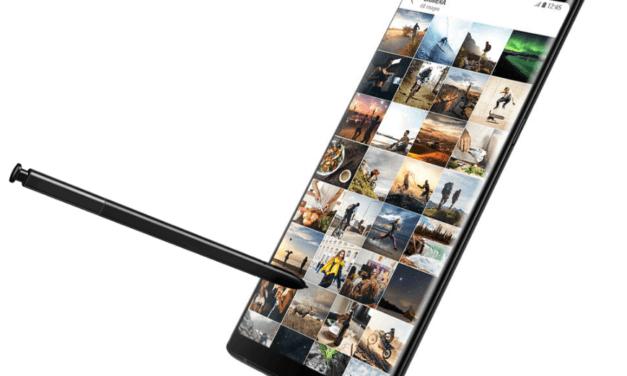 El S Pen del Samsung Galaxy Note 9 te permitirá sacar selfies