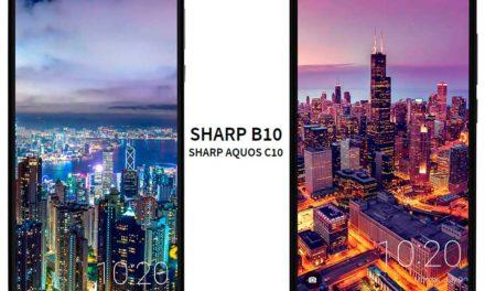 Sharp B10 y Aquos C10, dos móviles de gama media que llegan a Europa