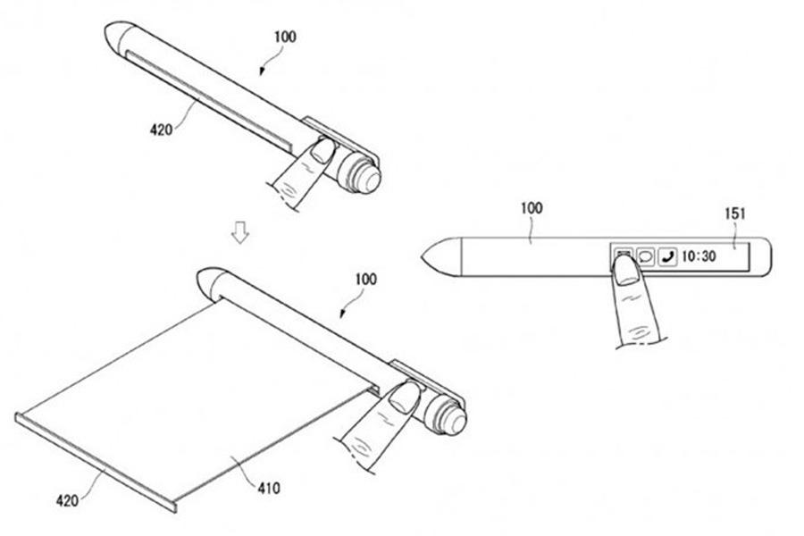 Tu próximo smartphone podría ser un bolígrafo