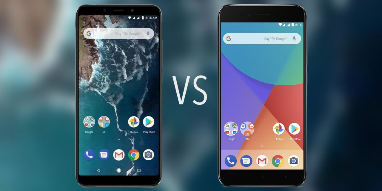 Comparativa Xiaomi Mi A2 vs Xiaomi Mi A1