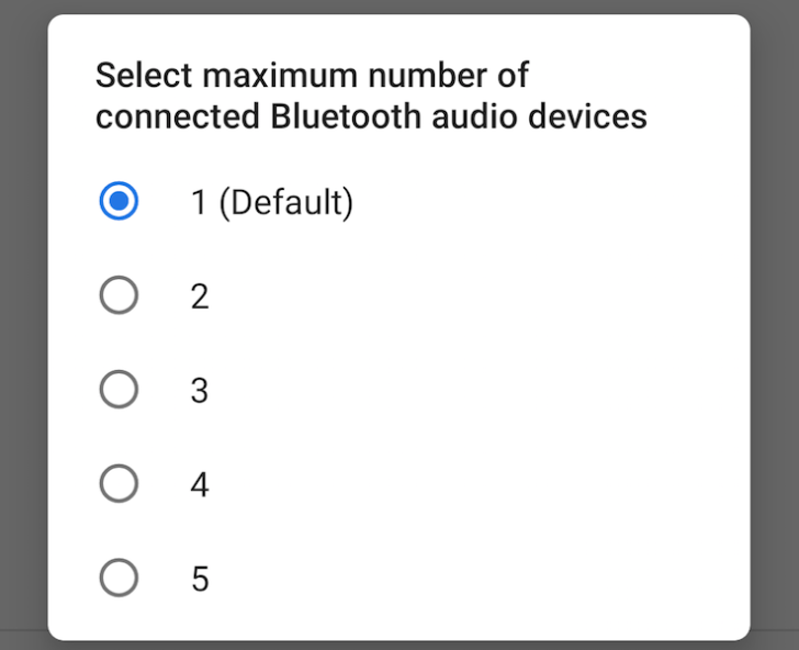 android p blueooth bateria