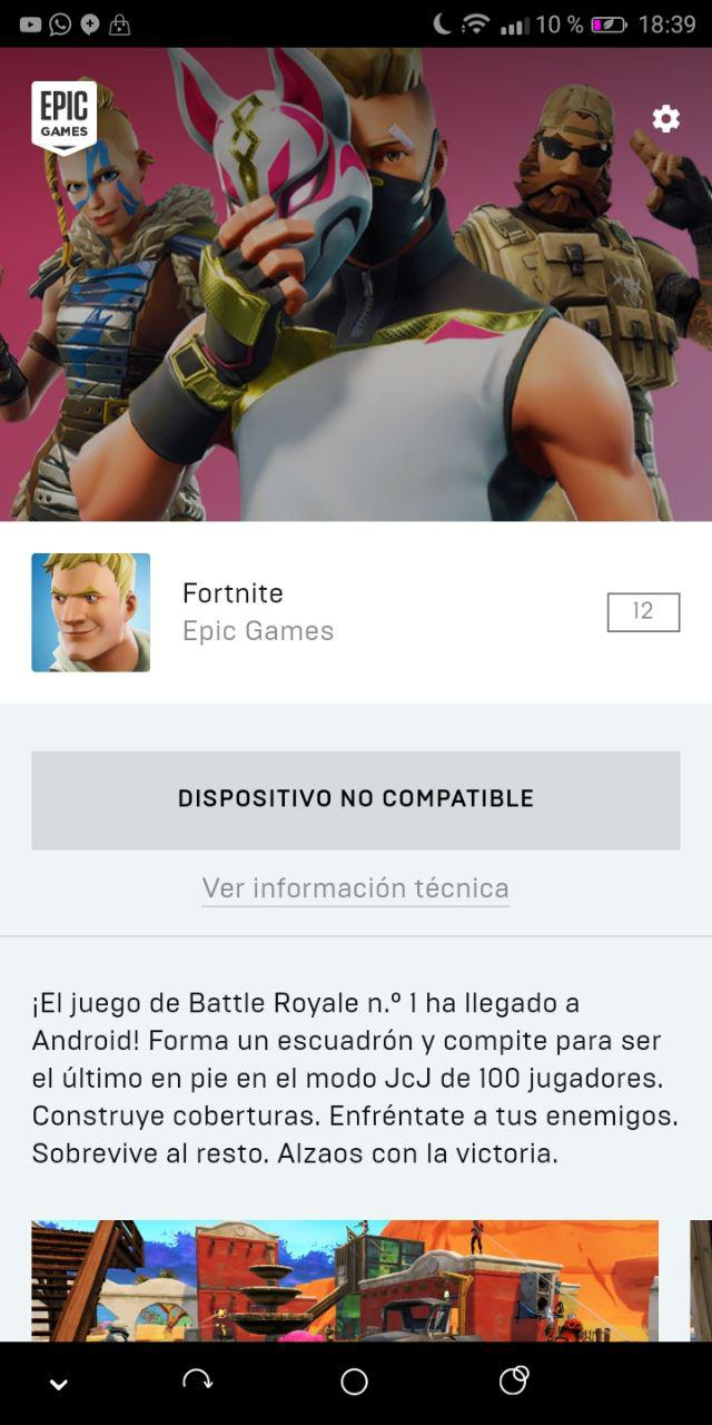 apk instalador fortnite android