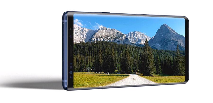 Galaxy Note 9 pantalla