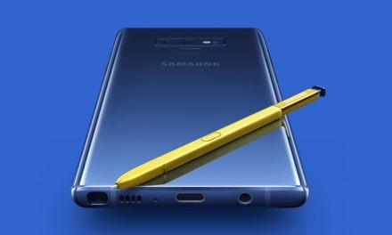 Las reservas del Samsung Galaxy Note 9 superan a las del Samsung Galaxy S9