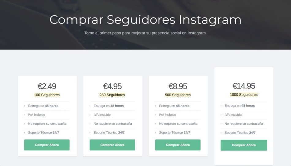 comprar seguidores en instagram 2