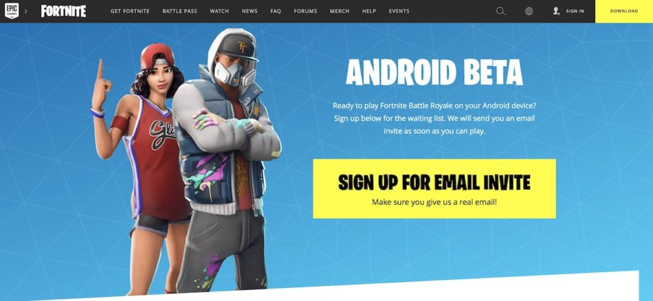 fortnite para android moviles