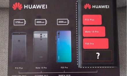 Huawei confirma que el Mate 20 Pro tendrá una batería gigante