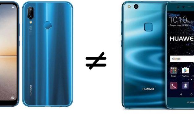 5 cosas que tiene el Huawei P20 Lite que no encontrarás en el Huawei P10 Lite