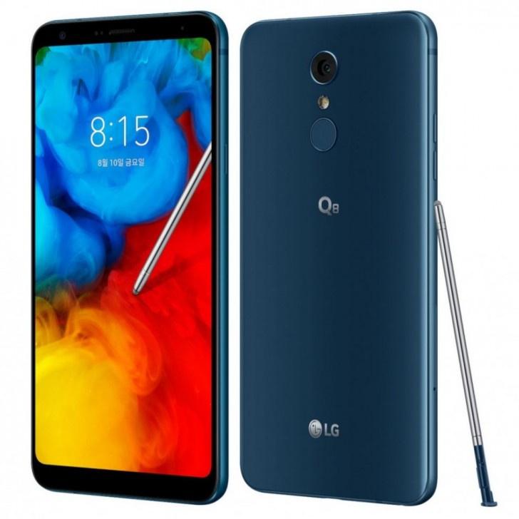 LG Q8 2018, teléfono de gama media con gran monitor y stylus