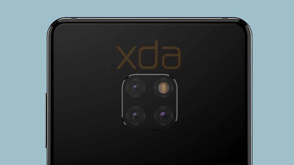 Se afirma la triple camara del Huawei Mate 20 gracias a una nueva foto real