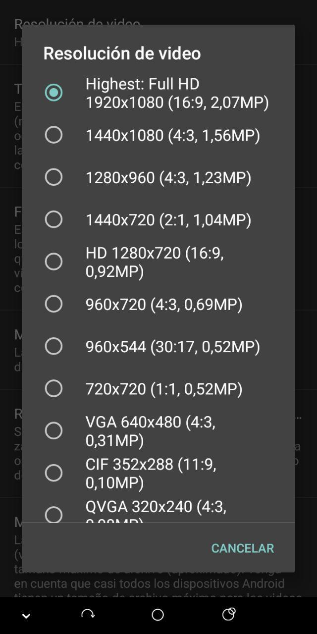 Cómo mejorar la calidad de los videos en Android fácilmente