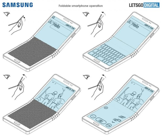 Samsung-Galaxy-X-functionality-patent