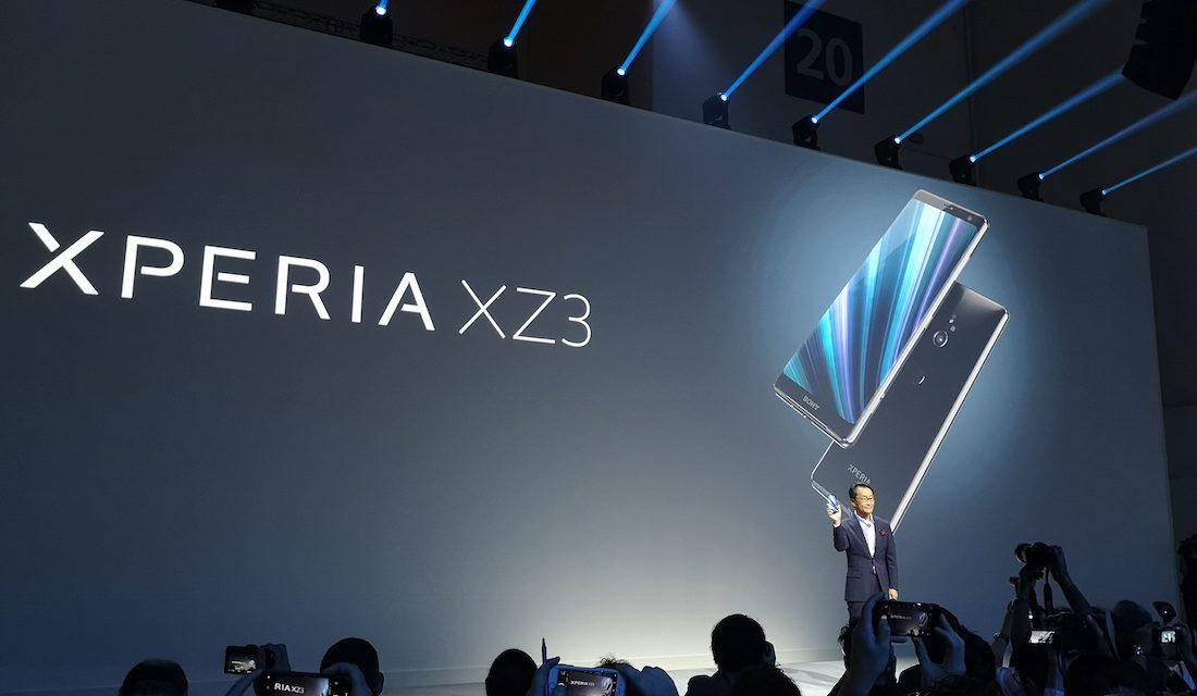 Así es el Sony Xperia XZ3, el primer móvil con pantalla OLED de Sony