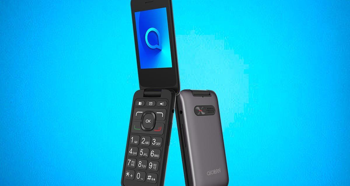 Alcatel 3026, un móvil de teclas para las personas mayores