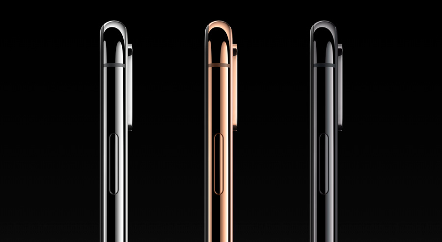 iPhone XS color dorado