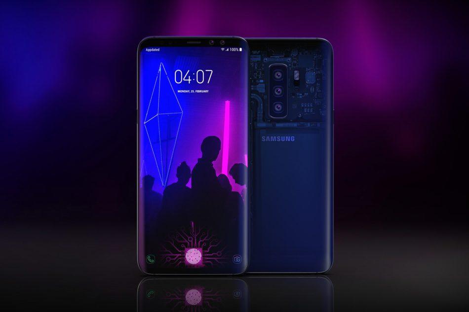 diseño samsung galaxy s10 plus