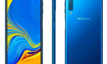 Samsung Galaxy A7 2018, primer móvil de Samsung con triple cámara principal