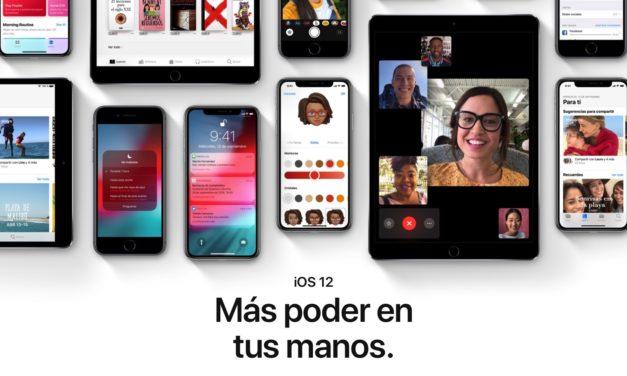 Las 10 novedades más interesantes que encontrarás en iOS 12 para iPhone e iPad