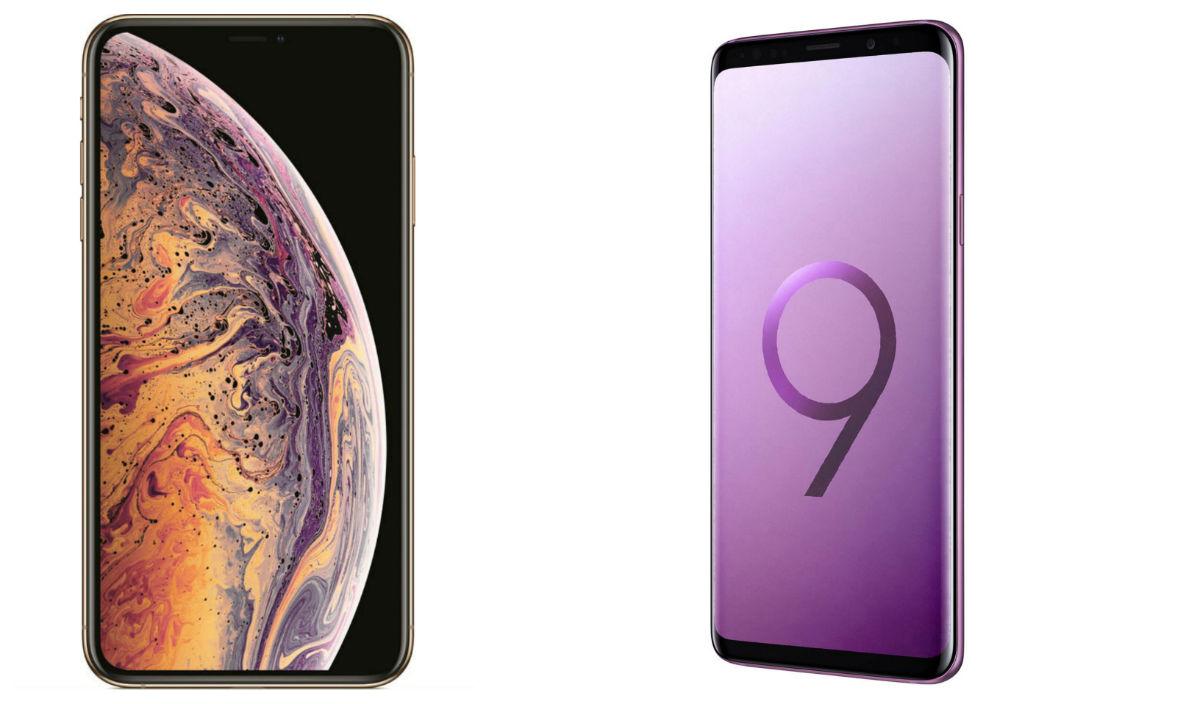 Comparativa iPhone Xs vs Samsung™ Galaxy™ S9