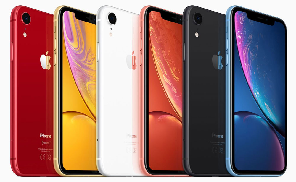 iPhone Xr, una versión más recortada del iPhone Xs y con más color