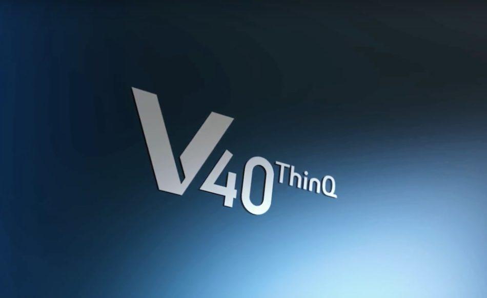 Nuevos renders del LG V40 desvelan su posible diseño final con muesca