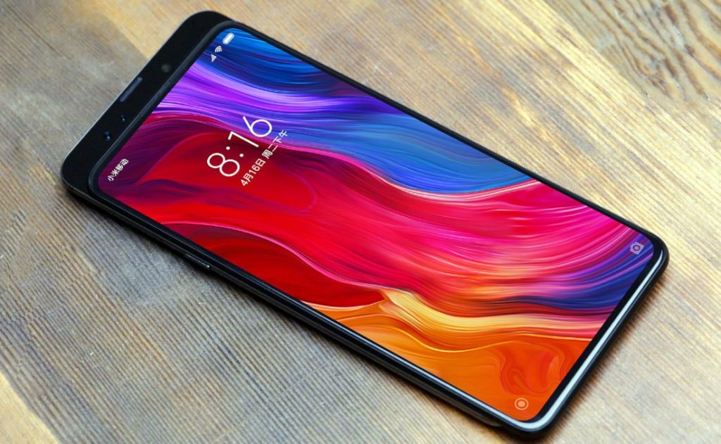Se filtra la pantalla del Xiaomi Mi MIX 3 confirmando su sensor de huellas