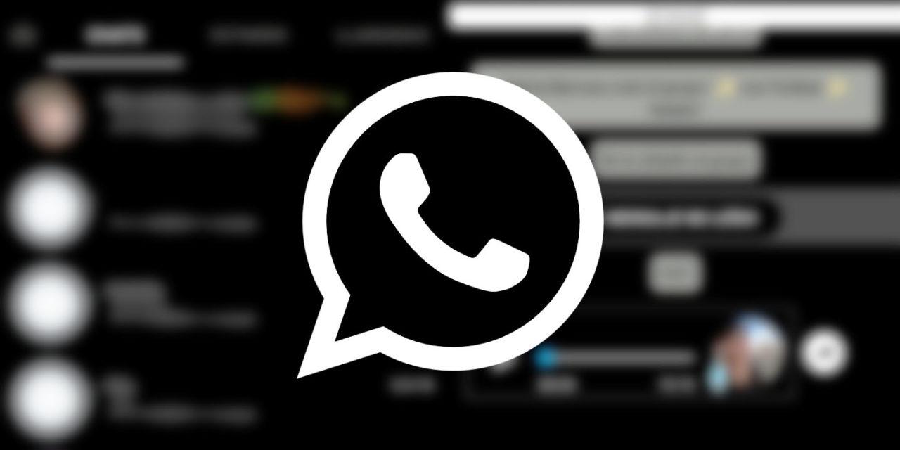 Cómo tener el modo oscuro en WhatsApp antes de que llegue