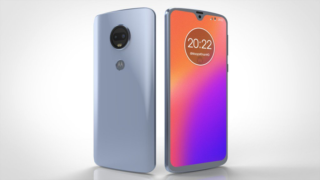 Aparecen renders del Motorola Moto G7 y G7 Plus en video