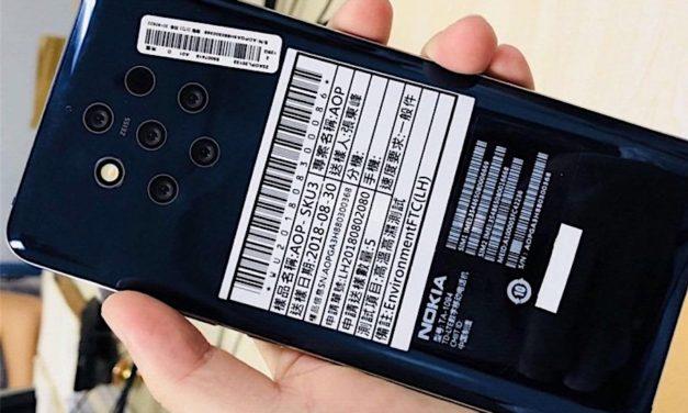 Se filtra la pantalla del Nokia 9 sin marcos y con sensor de huellas