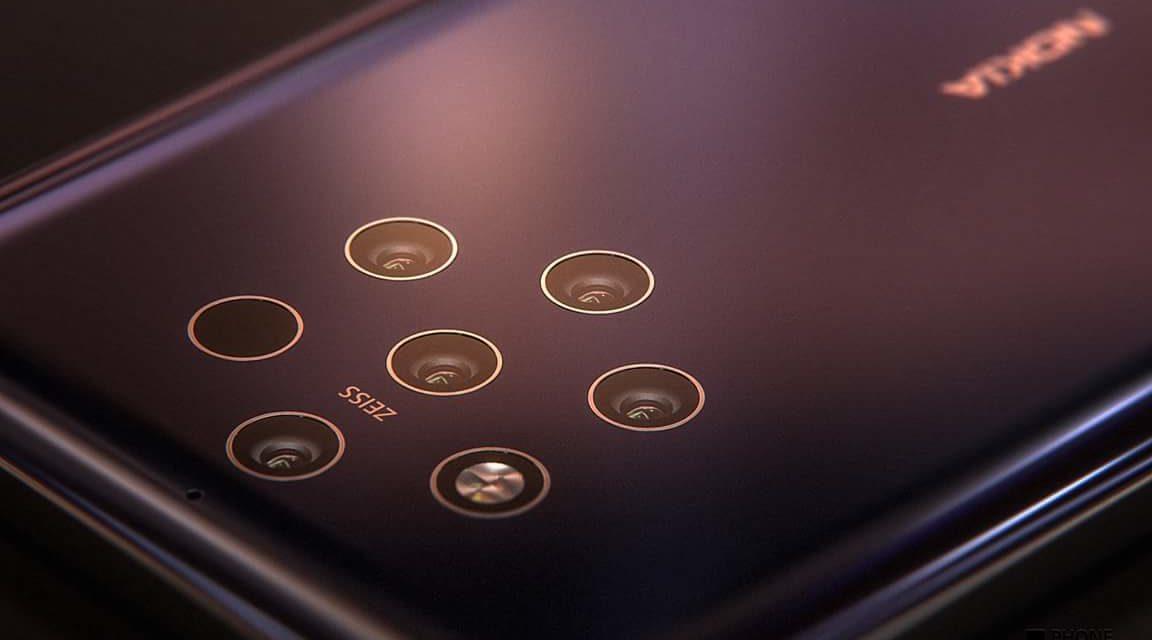 Se filtra una nueva imagen del Nokia 9 desvelando sus cinco cámaras y su batería