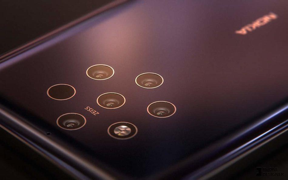 Se filtra alguna nueva imagen del Nokia™ nueve descubriendo su boceto y batería