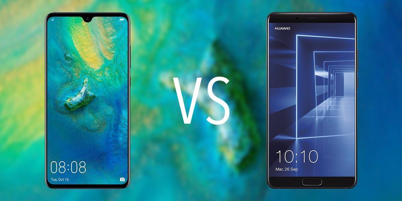 Comparativa Huawei Mate 20 vs Huawei Mate 10
