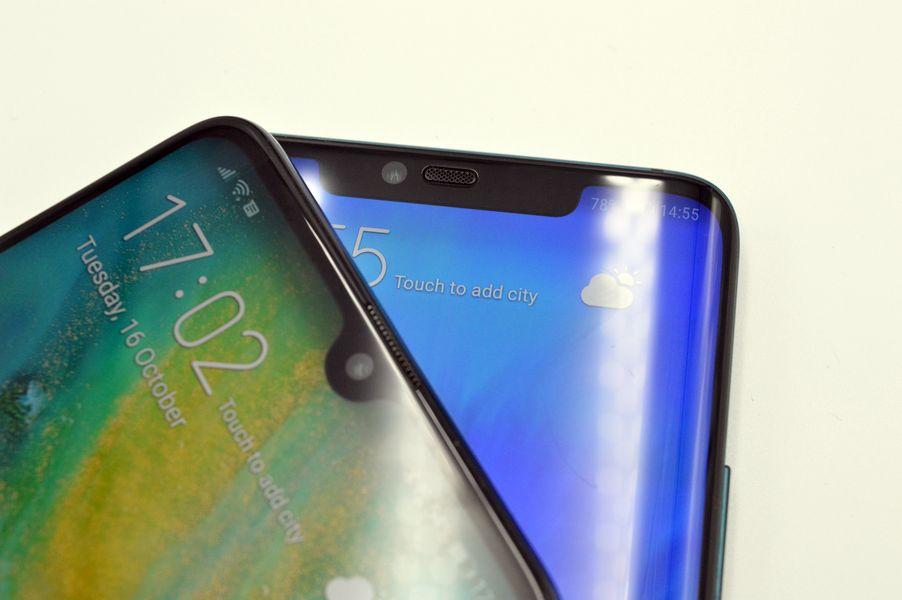 Los próximos Huawei podrían contar con un agujero para el altavoz en la pantalla