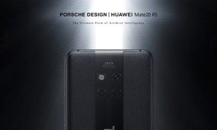 Huawei Mate 20 RS, así es la versión del Mate 20 con diseño Porsche