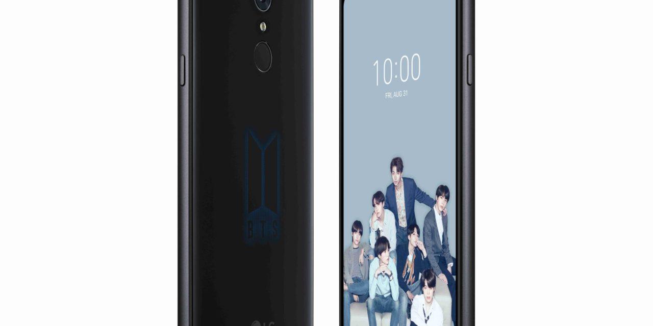 LG Q7 Edición BTS, pack para fans de este grupo de K-Pop