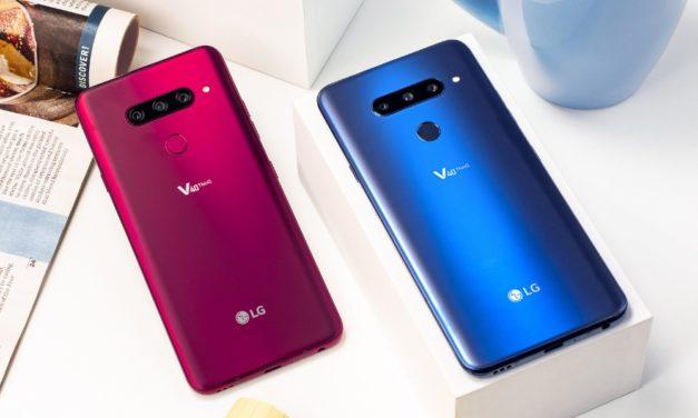 LG V40 ThinQ, un móvil con cinco cámaras para todo tipo de situaciones