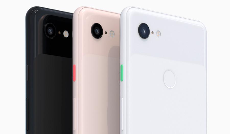 oficial Google Pixel 3 trasera de cristal
