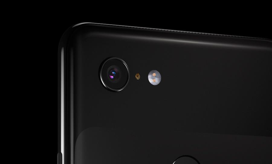 oficial Google Pixel 3 cámara trasera