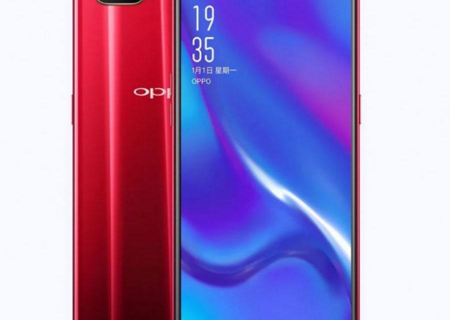 Oppo K1, nuevo móvil con lector de huellas bajo la pantalla