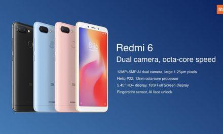 ¿Merece la pena comprar el Xiaomi Redmi 6?